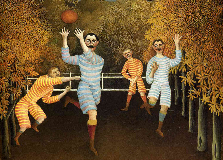 Rousseau--football-players